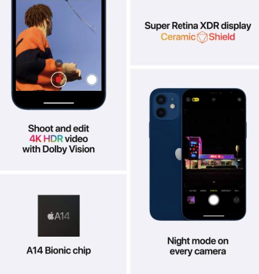 iPhone 12 processor-display