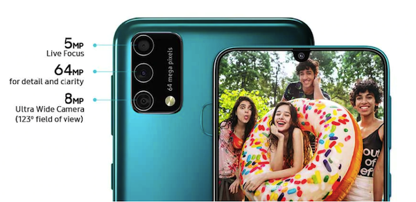 Samsung Galaxy F41 - camera