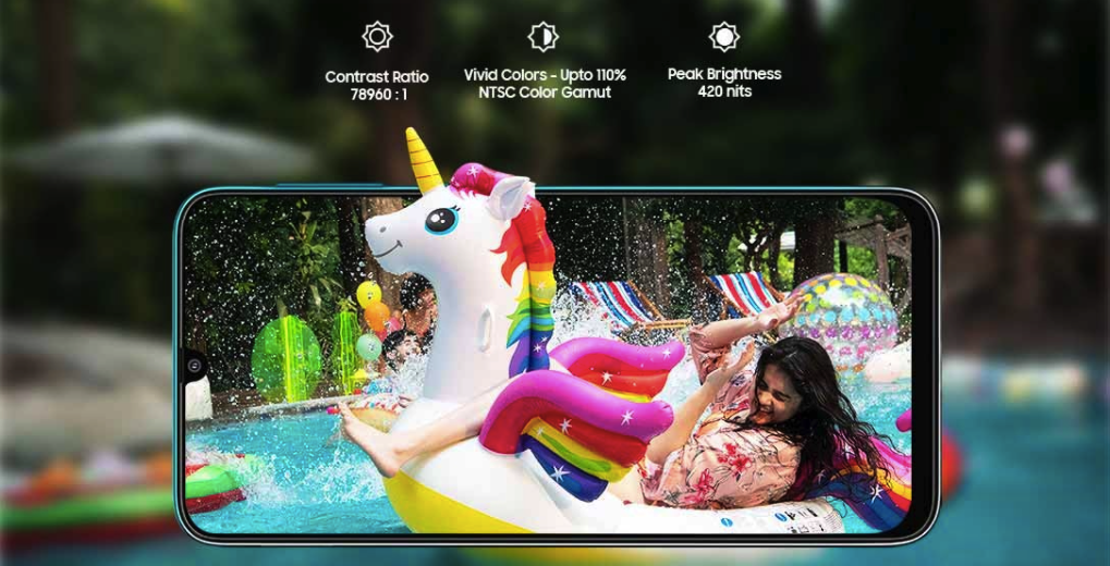 Samsung Galaxy F41 - Display